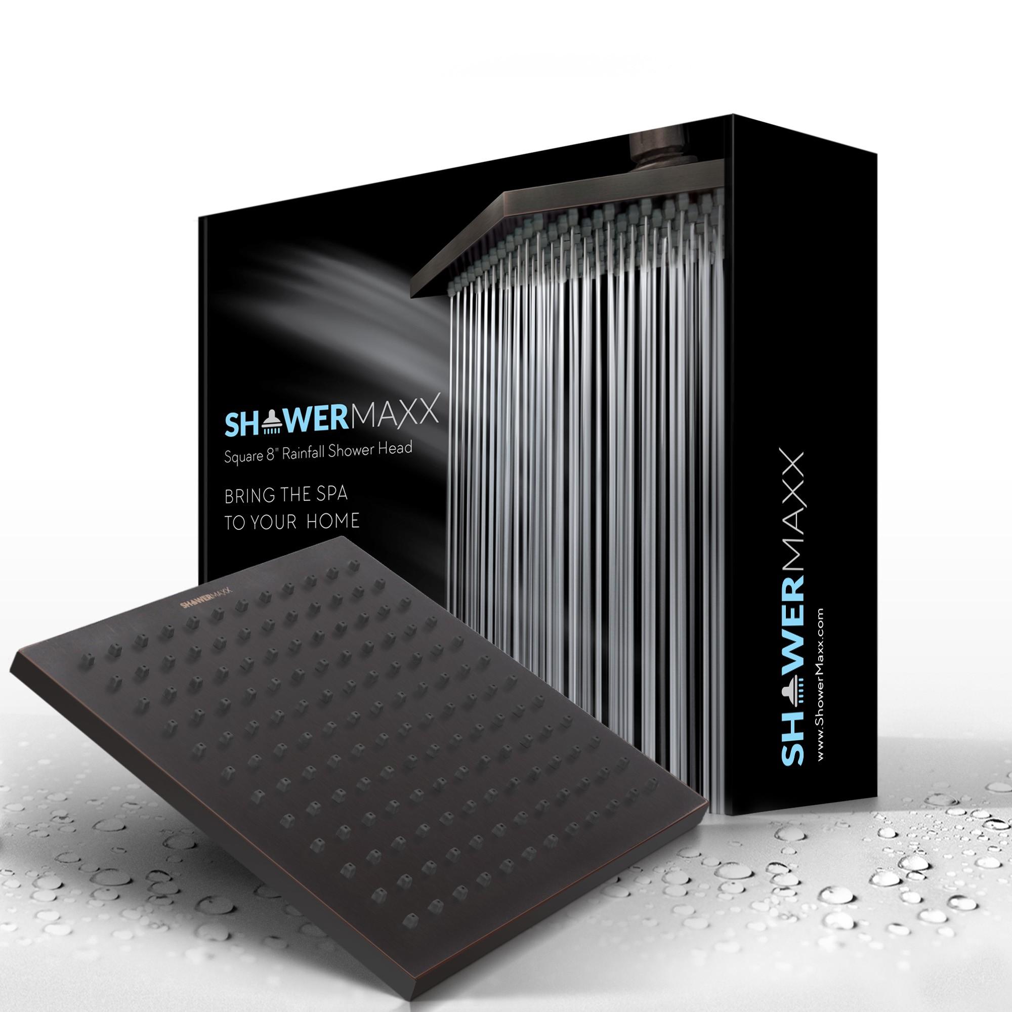 Square Rainfall Shower Head - Packaging