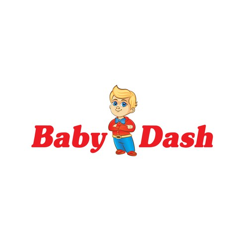 A Baby mascot as a host for an internet show