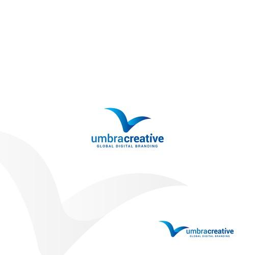 Modern logo for digital branding agency