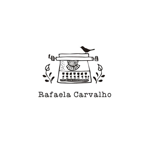 Simple but meaningful logo for an author