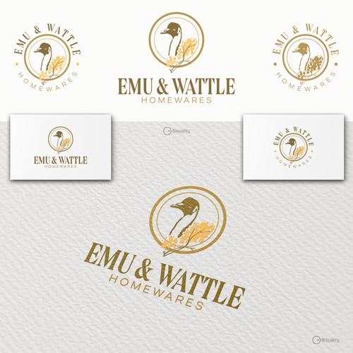 Emu and Wattle