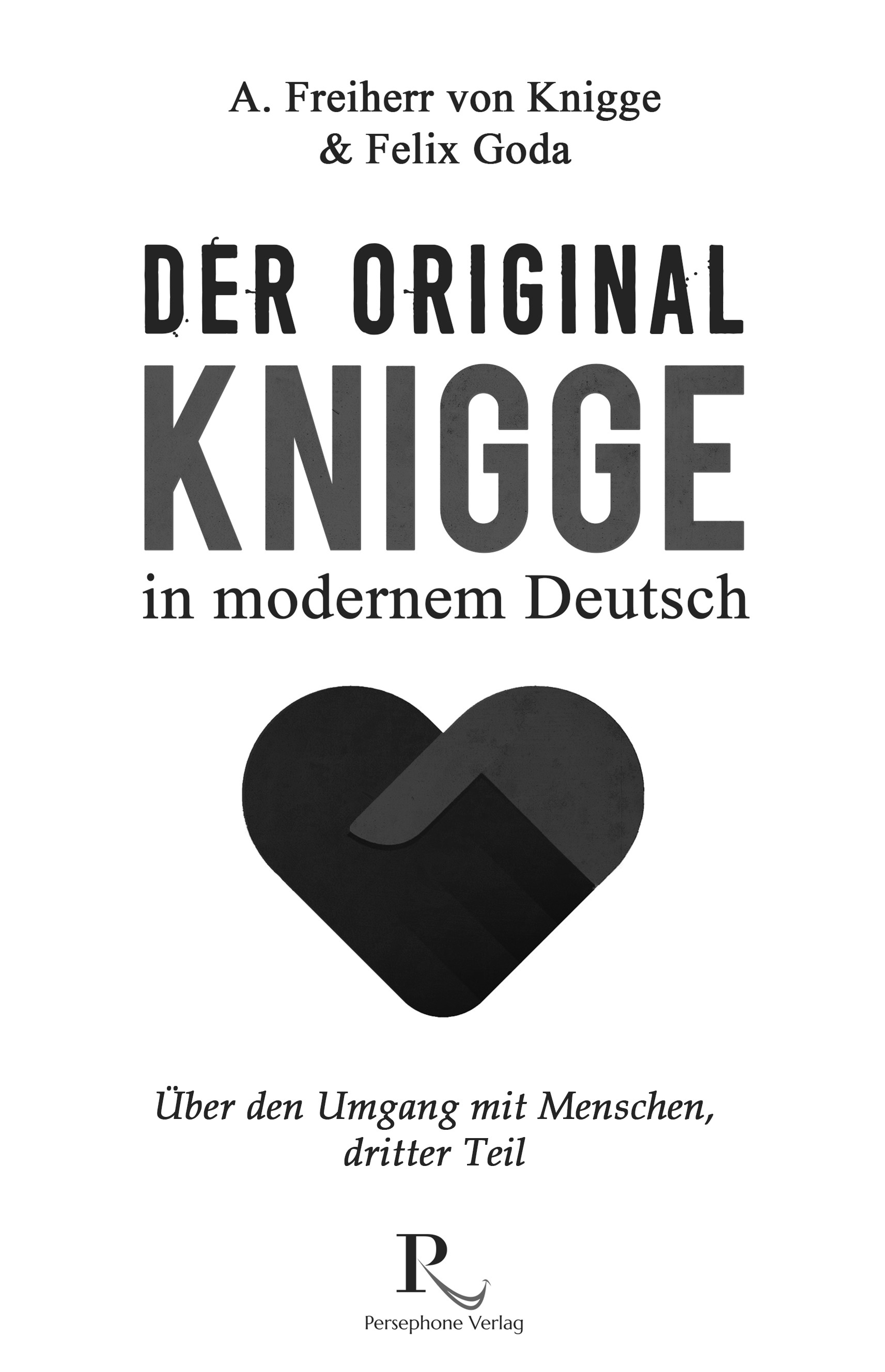 Book Cover for a German classic in new clothes