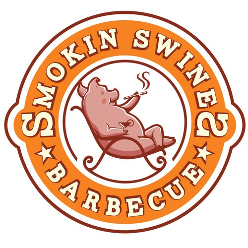 smoking swines BBQ