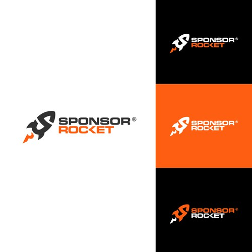 Logo concept for Sponsor Rocket