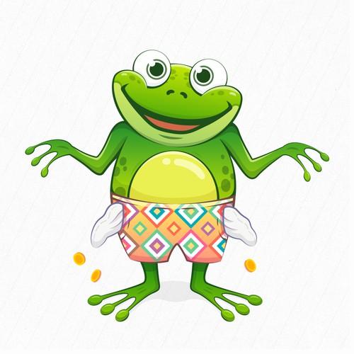 Poor Frog Character