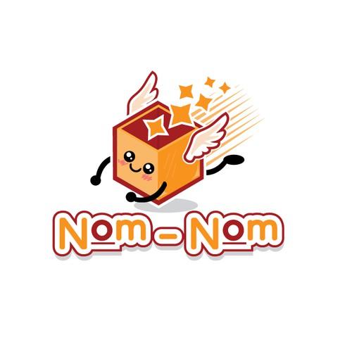 Logo design for Nom-Nom