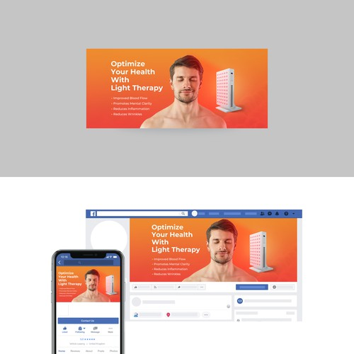 Health and Wellness Brand Facebook Cover