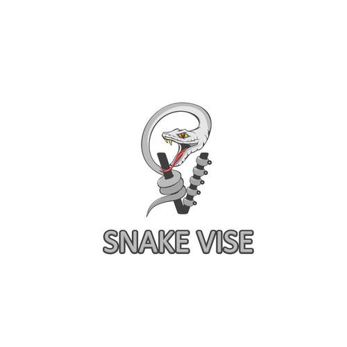 Logo Design for Snake Vise