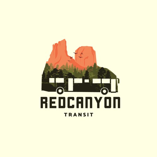 Logo for for an transit company .