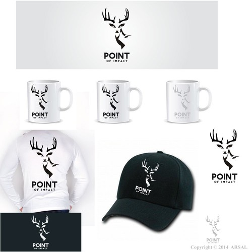 Outdoor Logo for TV show, need antlers or deer head