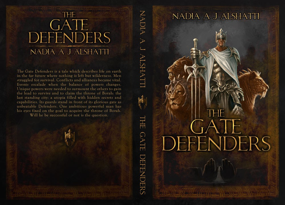 New book or magazine cover wanted for Nadia A J Alshatti