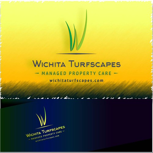 Logo design for Wichita Turfscapes