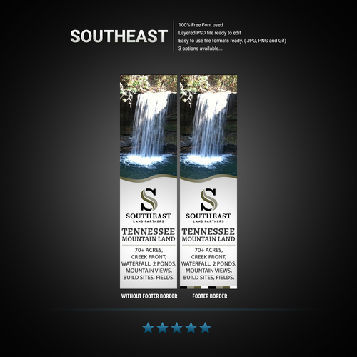 Eye-catching banner ad for SouthEast brokerage!