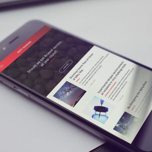 Swift News Application