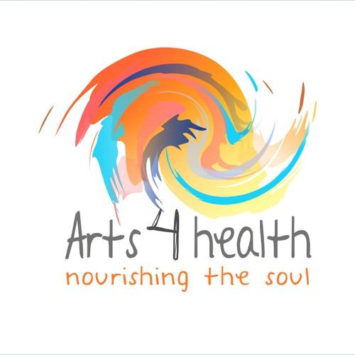 Design a captivating joyful logo for arts 4 health! Open for yourinspiration