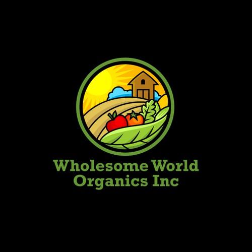 Logo concept for perma-culture farm