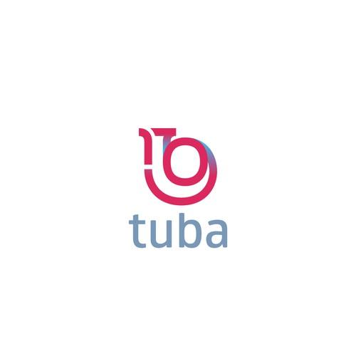 High technology startup logo
