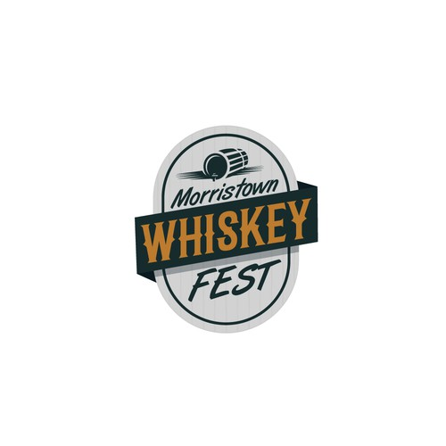 Logo for whiskey fest