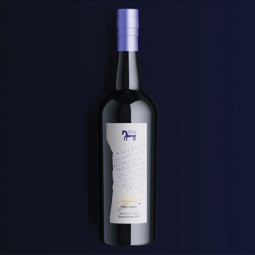 Wine label design for Antica Raetia
