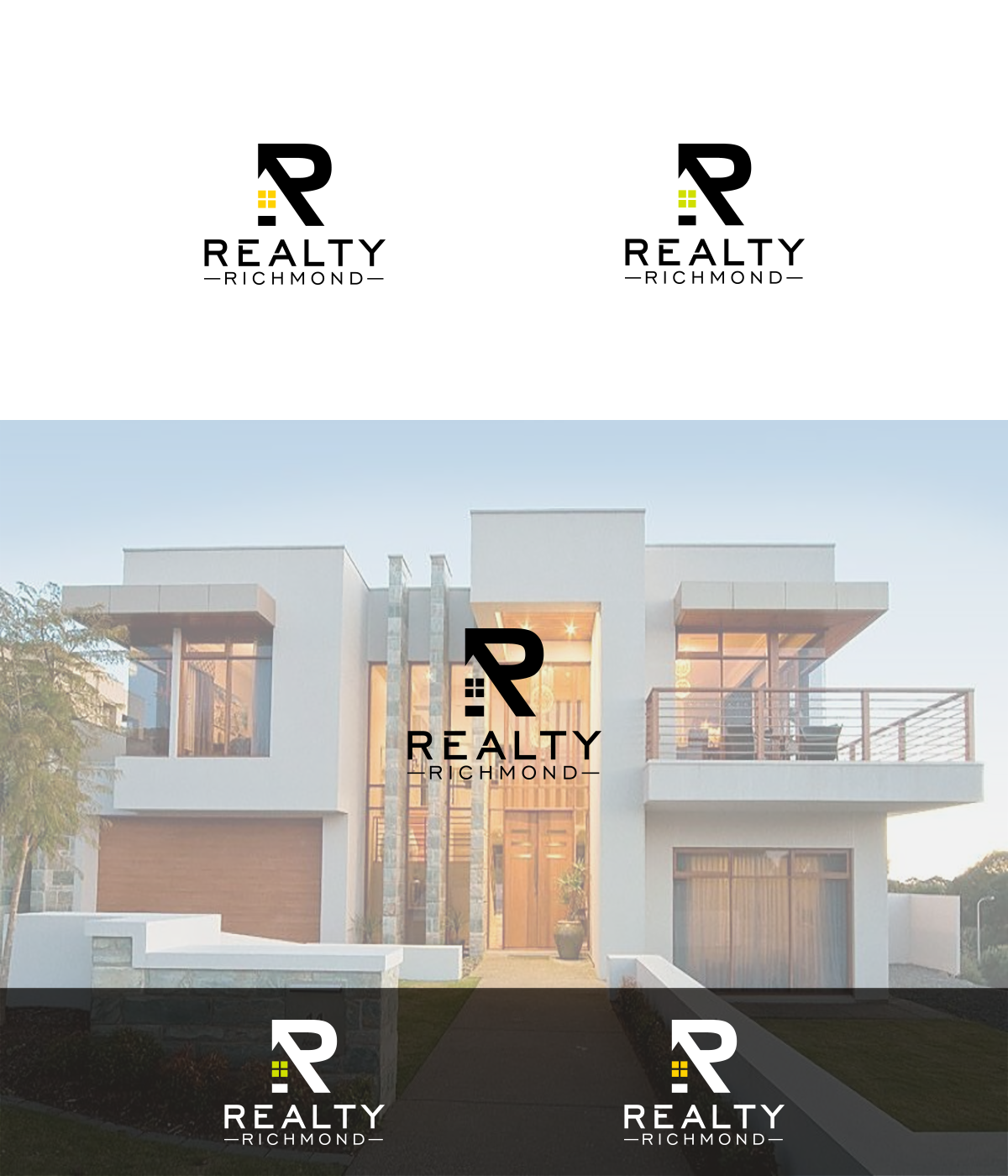 Create a Fresh Logo For a Downtown Realty Co - Clean, Simple Design with Bold Colors