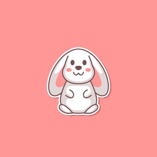 Rabbit character for Tmoji