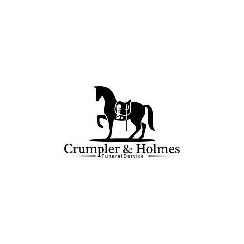 Clean logo concept for Crumpler & Holmes