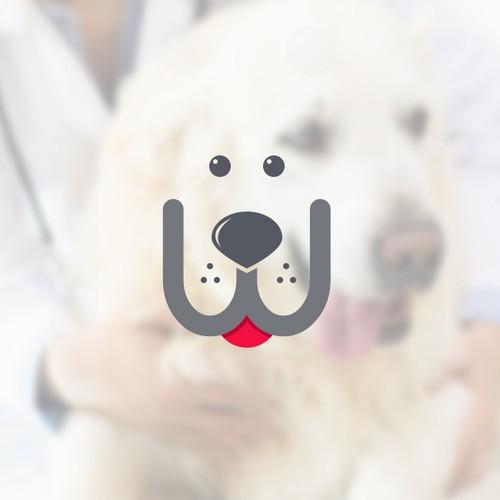 "Logo design for ""pawfit"""
