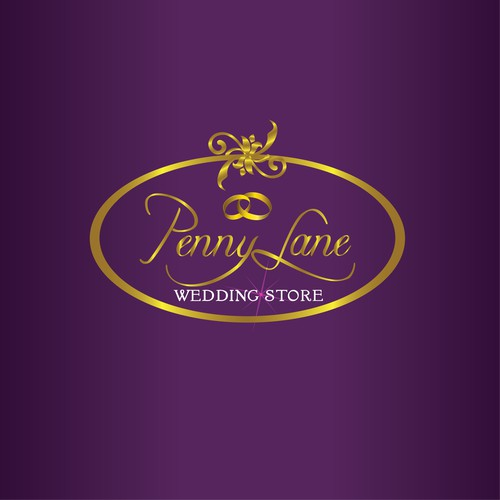 Pennylane Wedding Store Logo