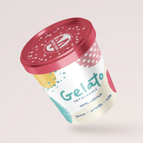 Premium Design for Ice Cream Packaging
