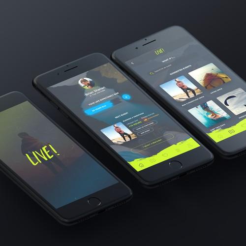 LIVE! App Design