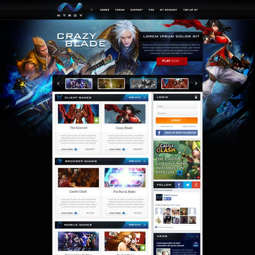 MMO Games Portal