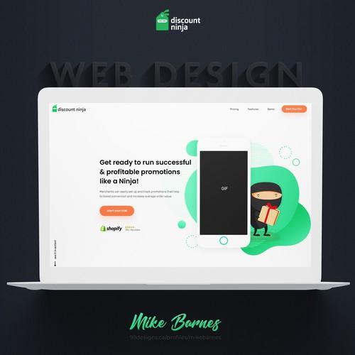 Discount Ninja Web site