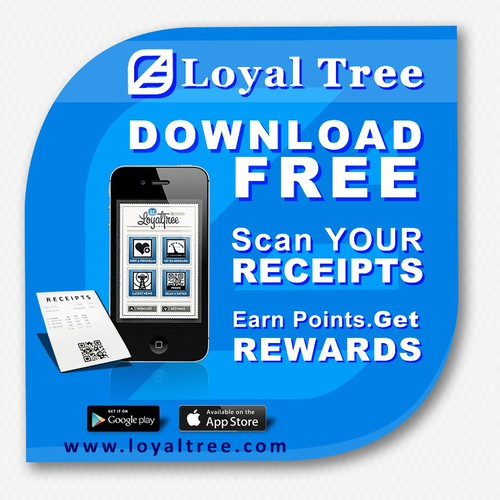 Create the next signage for LoyalTree