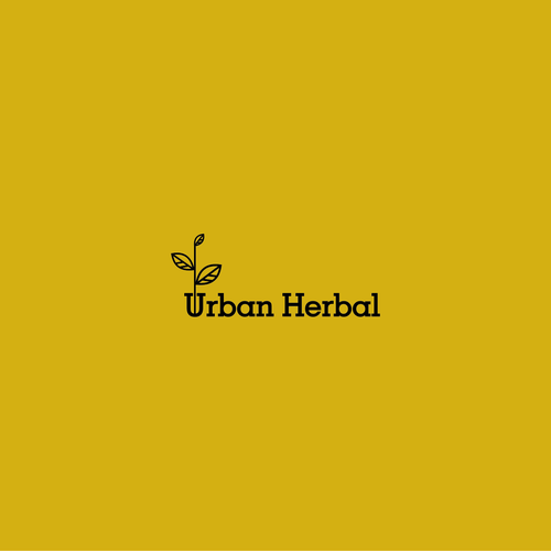 Create a logo for a natural health tonic company- Urban Herbal Co.
