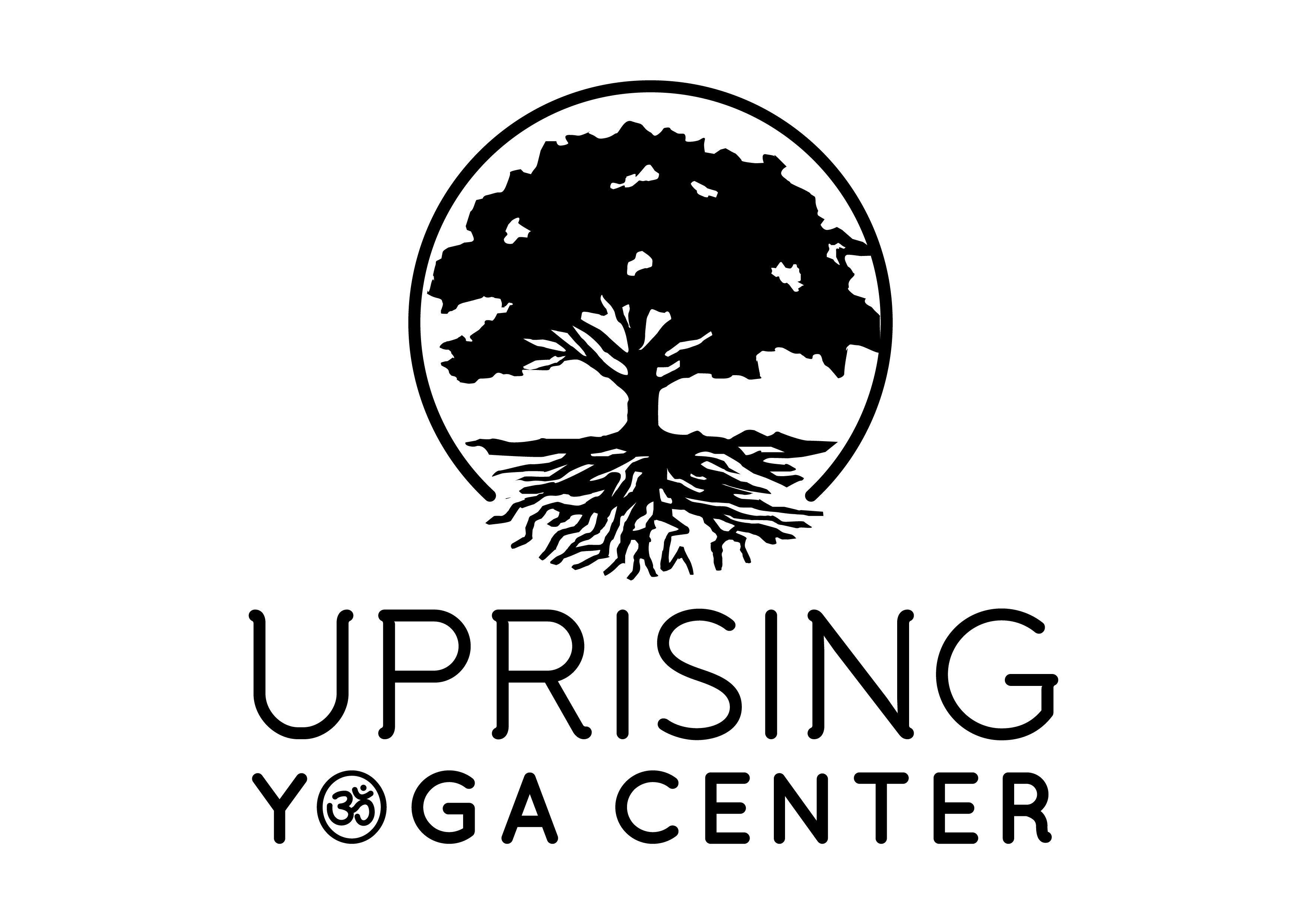 Hipster logo for a new yoga studio in D.C.