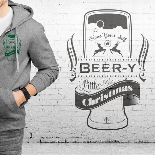 Christmas Beer Hoodie - Guaranteed!