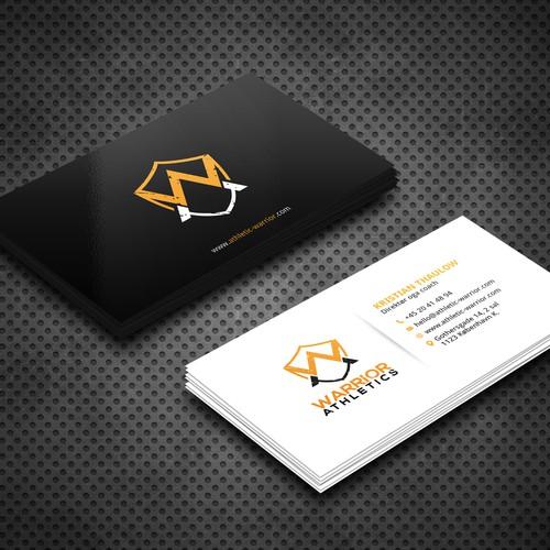 Warrior Athletics Business Card