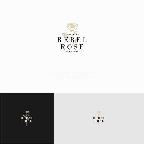 REBEL ROSE LOGO DESIGN
