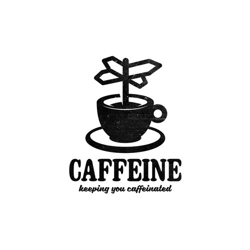 Creative logo for Caffeine