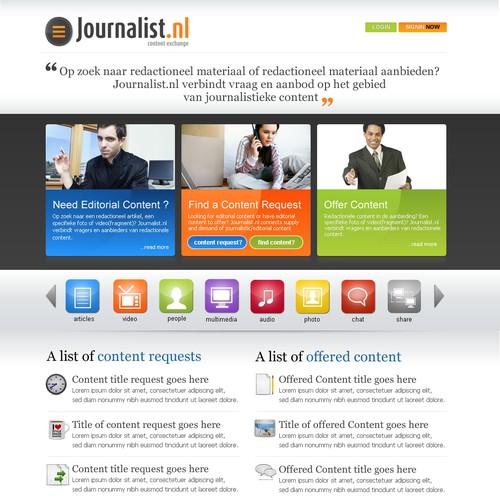 Atmosphere design for online content market place