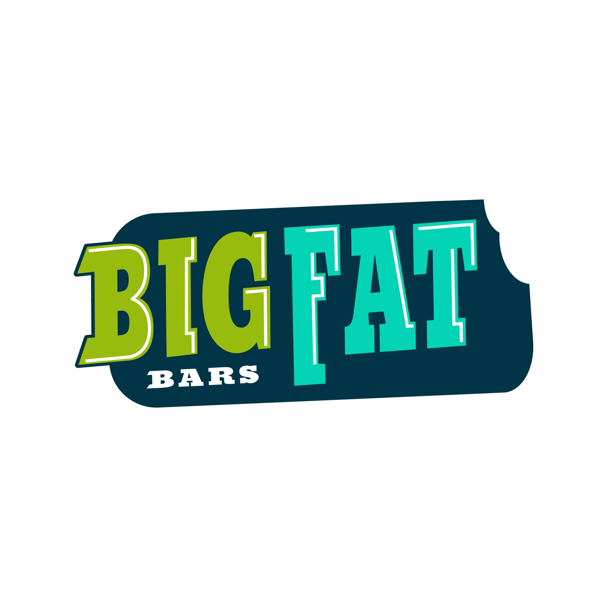 Design memorable logo to go with catchy snack Big FAT Bars