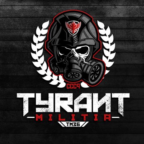 Logo design for Tyrant Militia