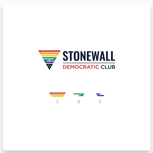 Logo Design for Stonewall Democratic Club