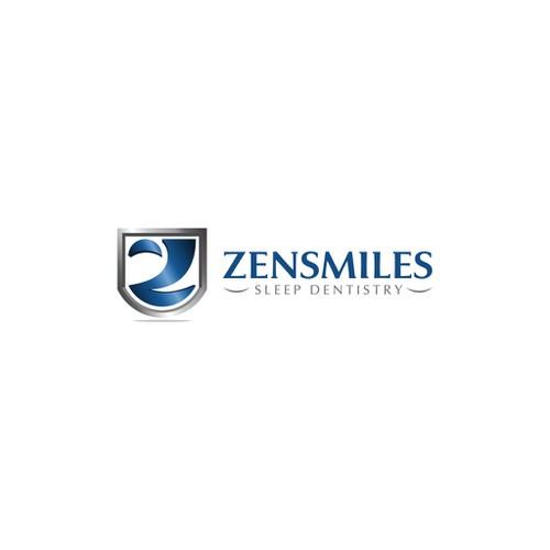 Create a capturing design for zensmiles sleep dentistry