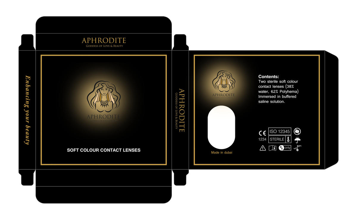 Aphrodite contact lenses