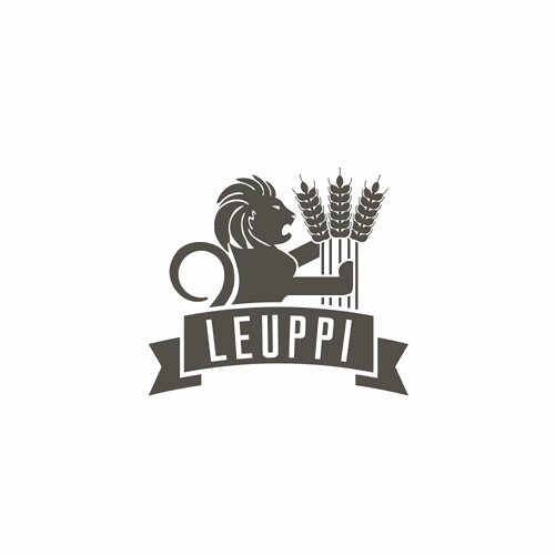Lion & Wheat farm logo