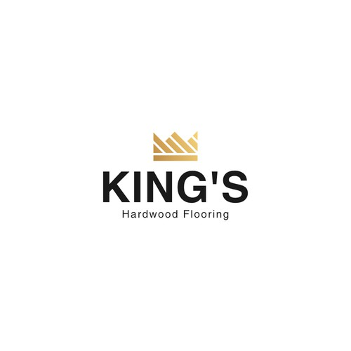 Logo for KING'S Hardwood Flooring