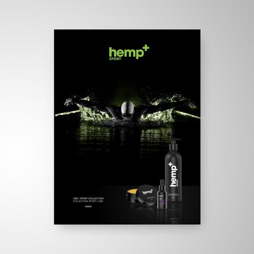 hemp+ Sport Collection Poster