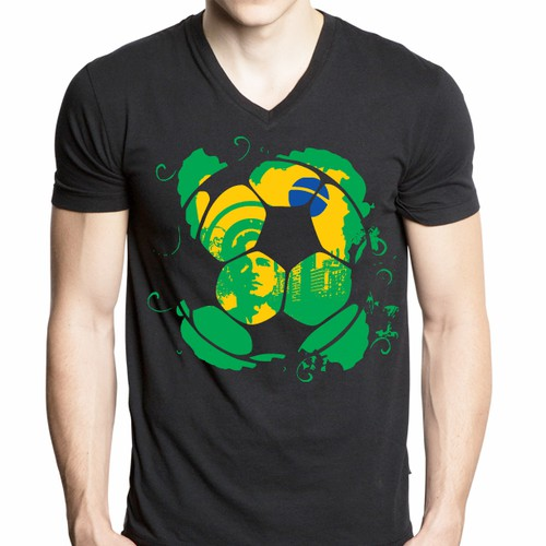 Football! World Cup! Summer! But hey ... what to wear? The alternative german football jersey!