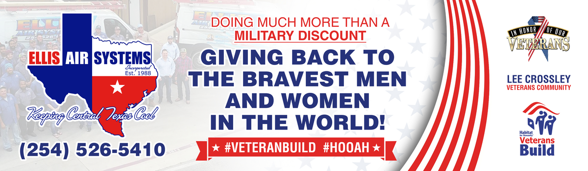 Veterans Build Billboard